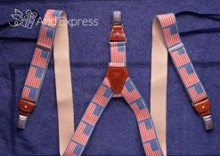 Kitchen apron with suspenders